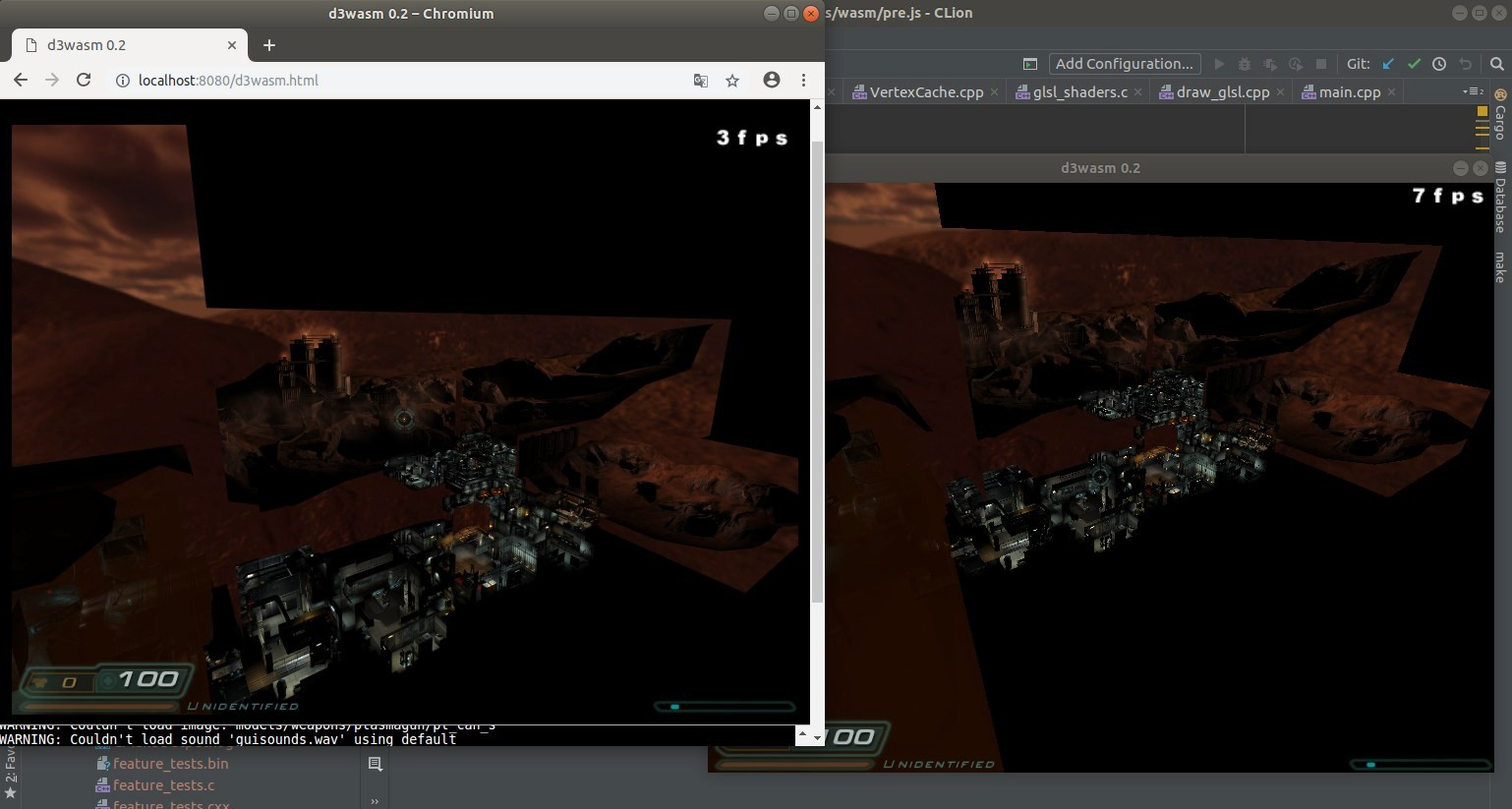 D3Wasm: a port of id Tech 4 / Doom 3 engine to WebAssembly